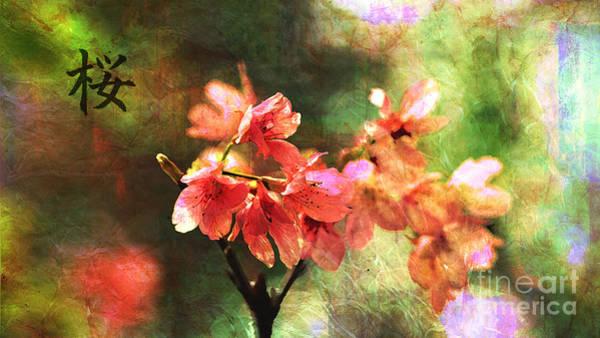 Digital Art - Sakura 2016 by Kathryn Strick
