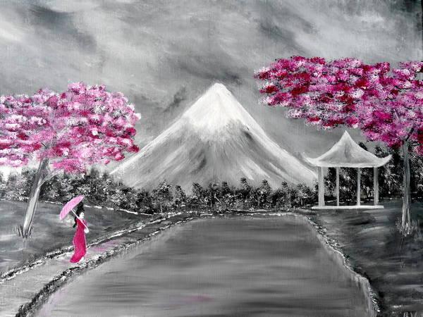 Painting - Sakura - Japanese Dreams by Bernd Hau