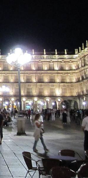 Photograph - Salamanca Plaza II Spain by John Shiron