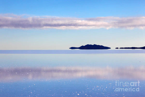 Photograph - Salar De Uyuni Dreamland by James Brunker