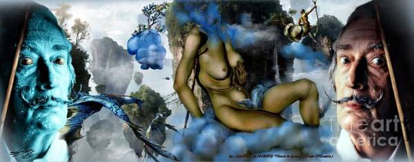 Xxx Painting - Salavatar Dali...honey Is Sweeter Than Blood... by Lucian Ioan DOBARTA LuciDO
