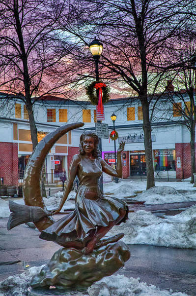 Photograph - Salem Is Bewitched by Jeff Folger