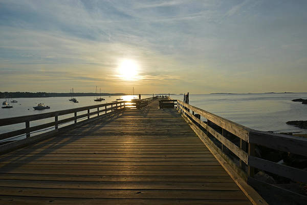 Photograph - Salem Willows Pier At Sunrise by Toby McGuire