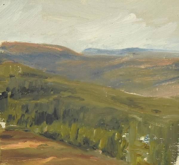 Painting - Salen Daylight 90x85 Cm by Marica Ohlsson
