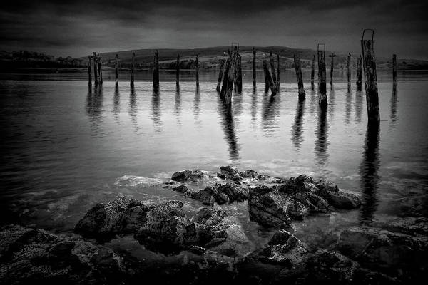 Photograph - Salen Pier, Isle Of Mull by Peter OReilly