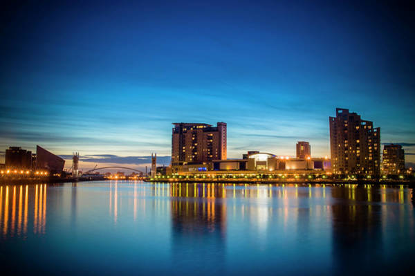 Photograph - Salford Quays by Neil Alexander