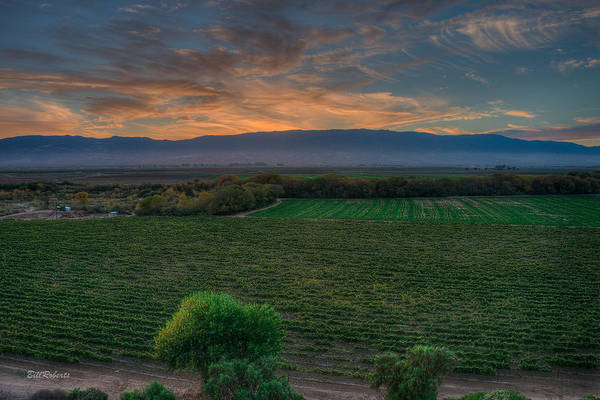 East County Photograph - Salinas Valley Sunset by Bill Roberts