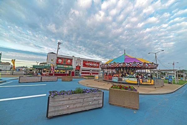 Photograph - Salisbury Beach Carousel Sailsbury Ma by Toby McGuire