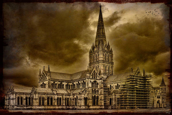Photograph - Salisbury Cathedral by Chris Lord
