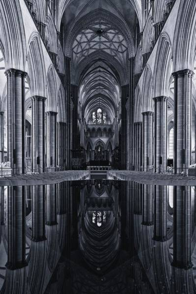 Photograph - Salisbury Cathedral by Stephen Taylor