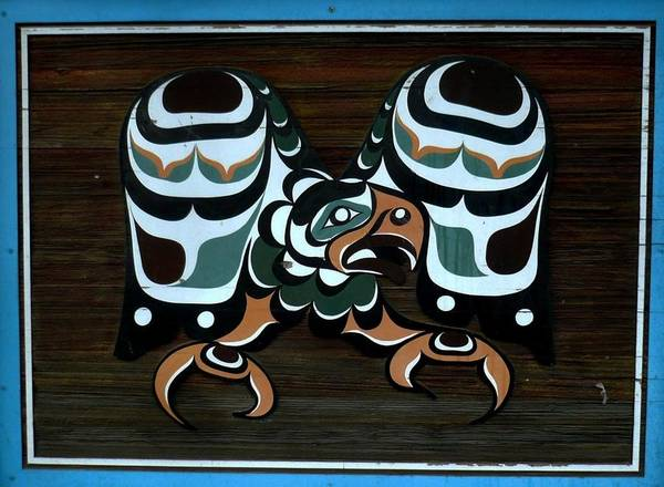 Photograph - Salish Painting by 'REA' Gallery