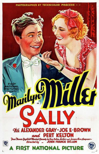 Nostalgia Drawing - Sally 1929 by Mountain Dreams