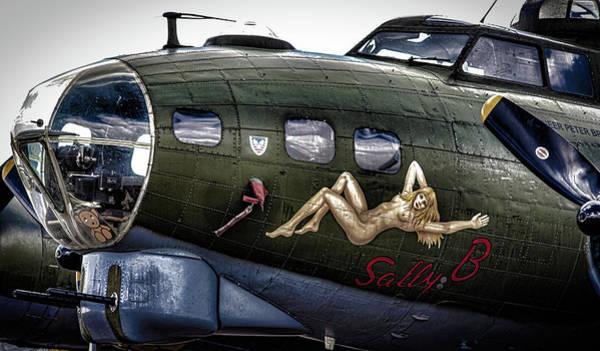 Skydive Wall Art - Photograph - Sally B by Martin Newman