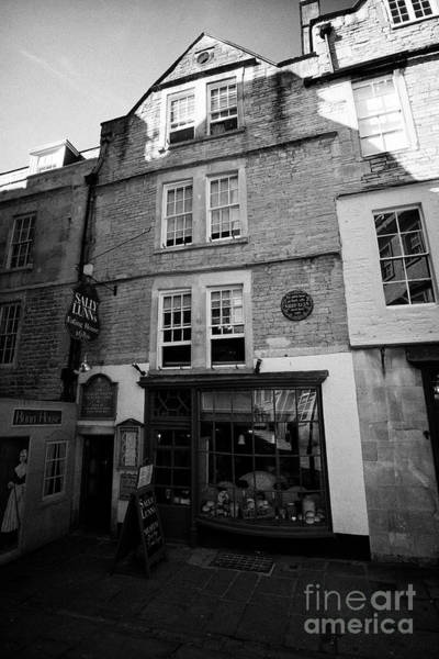 Wall Art - Photograph - sally lunns eating house and museum in the oldest house in Bath England UK by Joe Fox