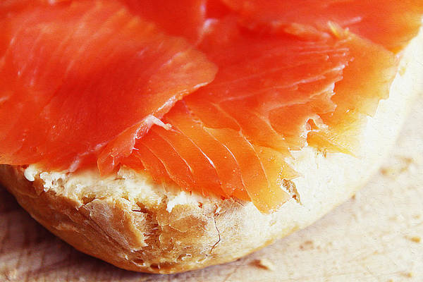 Protein Painting - Salmon In Bread by Queso Espinosa