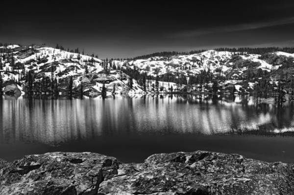 Plumas County Photograph - Salmon Lake by Mick Burkey
