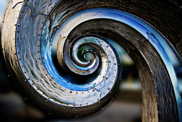 Ballard Wall Art - Photograph - Salmon Waves 2 by Pelo Blanco Photo