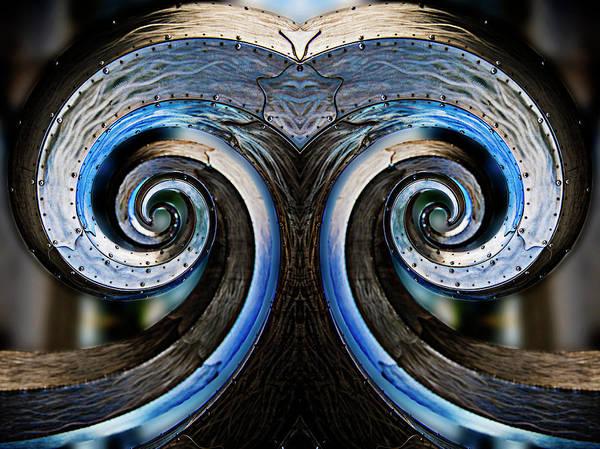 Ballard Wall Art - Photograph - Salmon Waves Reflection by Pelo Blanco Photo