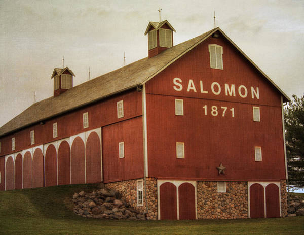 Photograph - Salomon Barn by Michael Colgate