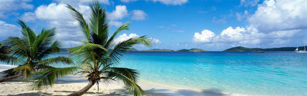 Oceanfront Photograph - Salomon Beach Us Virgin Islands by Panoramic Images