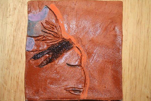 Ceramic Art - Salon - Tile by Gloria Ssali