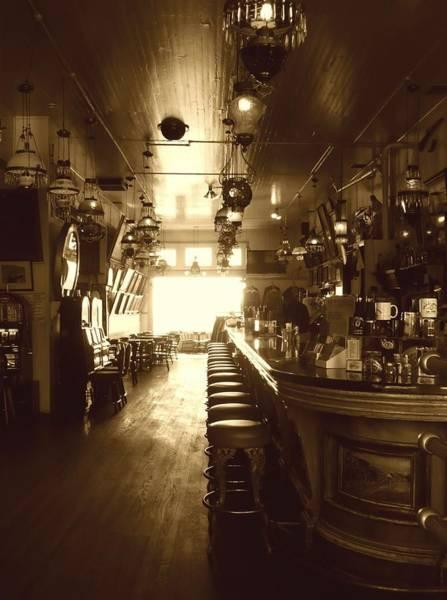 Seamen Photograph - Saloon by Lori Seaman