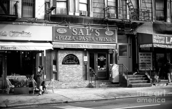Photograph - Sal's Little Italy by John Rizzuto