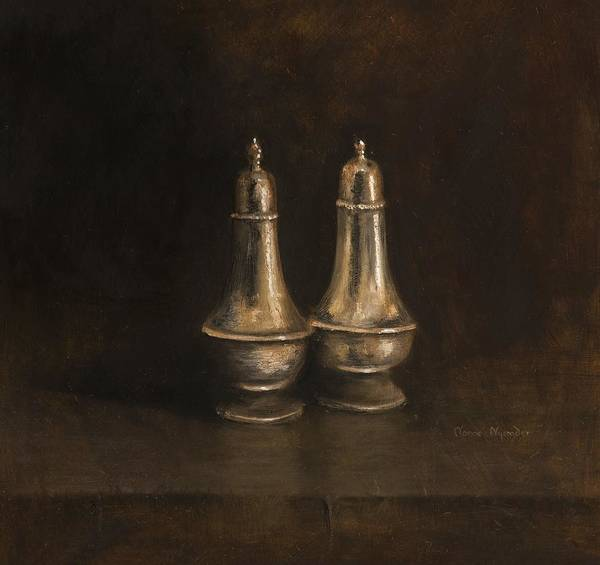 Painting - Salt And Pepper by Nanne Nyander
