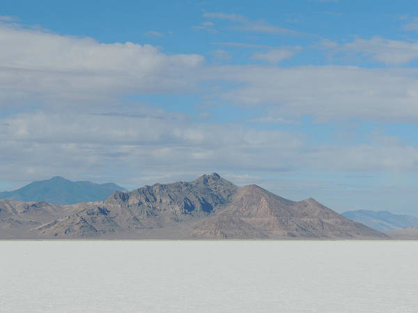 Photograph - Salt Flat Study by Andrew Chambers