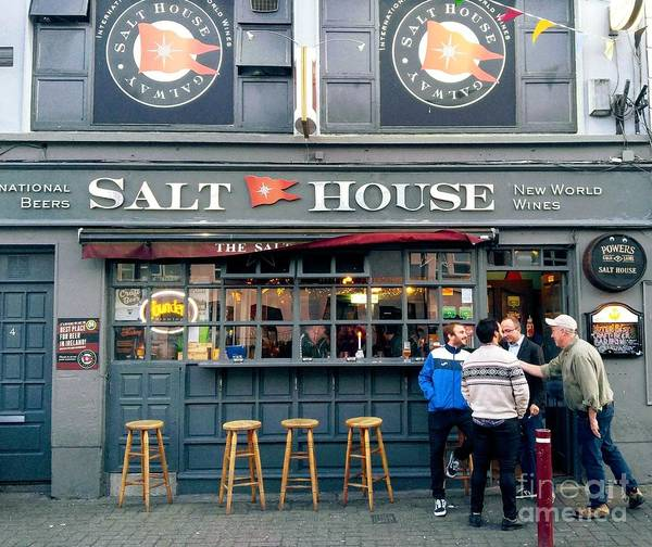 Photograph - Salt House Bar, Galway by Rosanne Licciardi