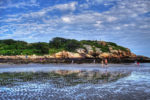 Photograph - Salt Island Off Of Good Harbor Beach Gloucester Ma by Toby McGuire