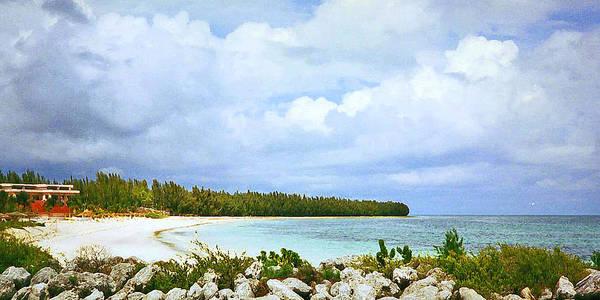 Digital Art - Salt Key Bahamas 1995 by James Granberry