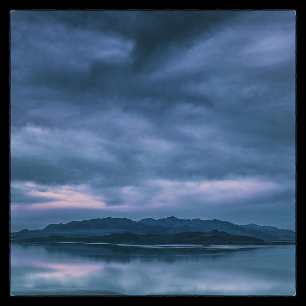Wall Art - Photograph - Salt Lake Blues by Robert Fawcett