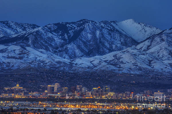 Photograph - Salt Lake City by Spencer Baugh