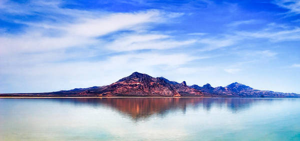 Photograph - Salt Lake Mountain by Robert FERD Frank
