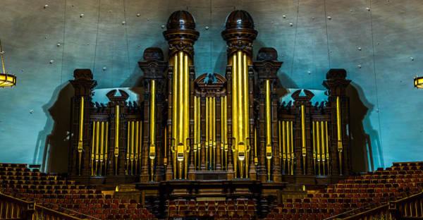 Photograph - Salt Lake Tabernacle Organ by TL  Mair