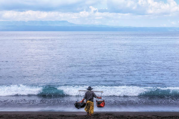 Wall Art - Photograph - Salt Making - Bali by Joana Kruse