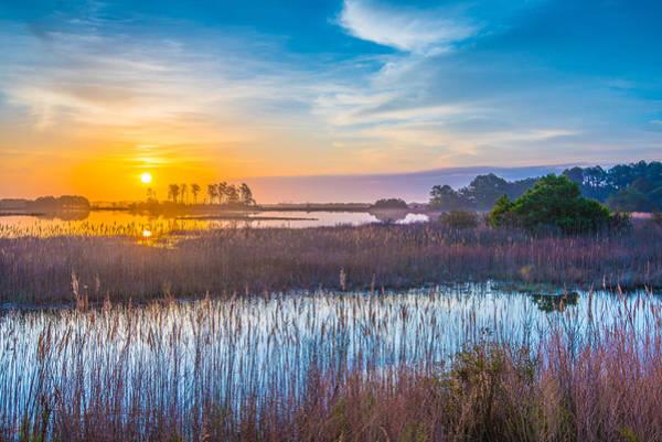 Assateague Island Photograph - Salt Marsh Sunrise II by Steven Ainsworth