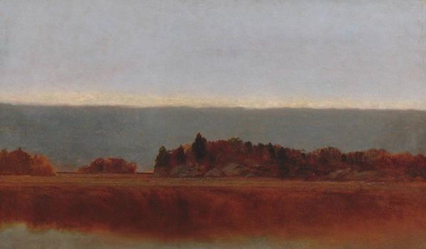 Painting - Salt Meadow In October by John Frederick Kensett