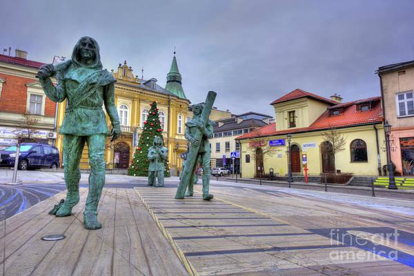 3 Dimensional Wall Art - Photograph - Salt Miners Of Wieliczka, Poland by Juli Scalzi