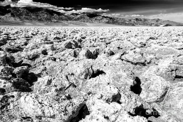 Photograph - Salt Pan In Death Valley by John Rizzuto
