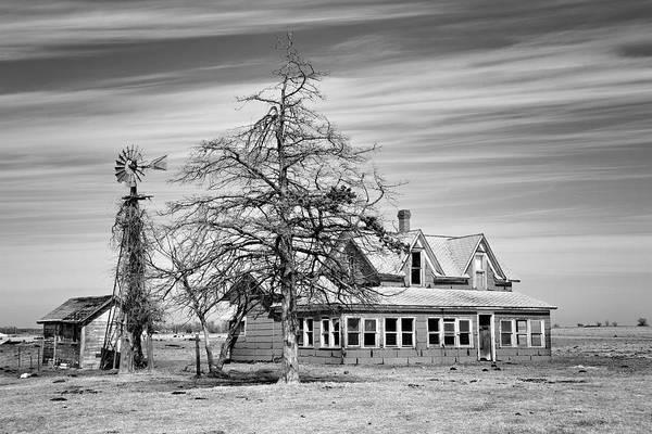 Wall Art - Photograph - Salt Plains Homestead by Lana Trussell