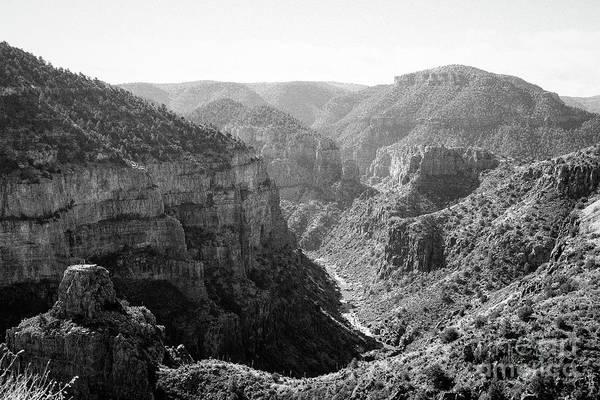 Photograph - Salt River Canyon by Jon Burch Photography