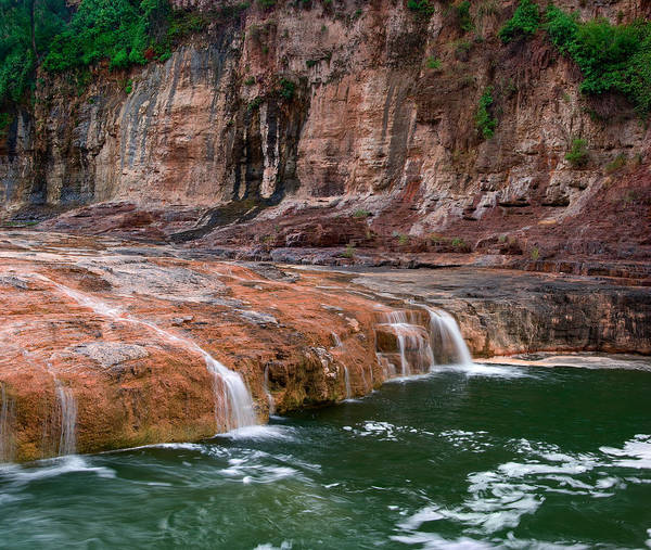Photograph - Salt River Green Waters by Dave Dilli