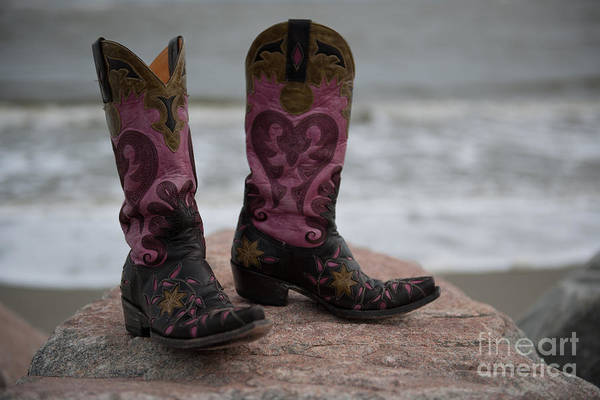 Photograph - Salt Water Boots by Dale Powell