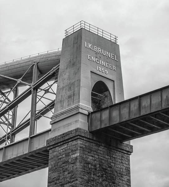 Wall Art - Photograph - Saltash Railway Bridge by Martin Newman