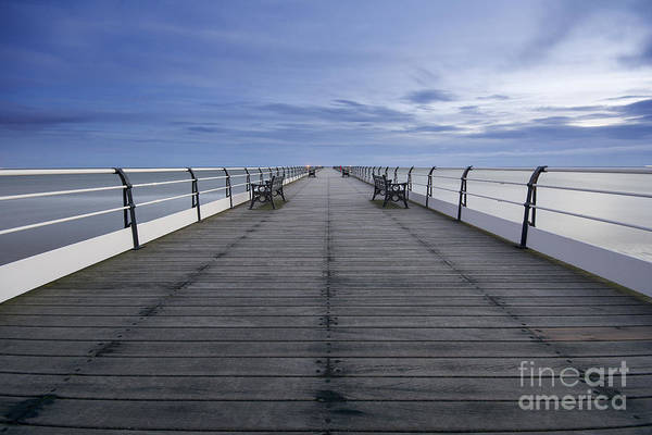 North Sea Photograph - Saltburn Pier by Smart Aviation