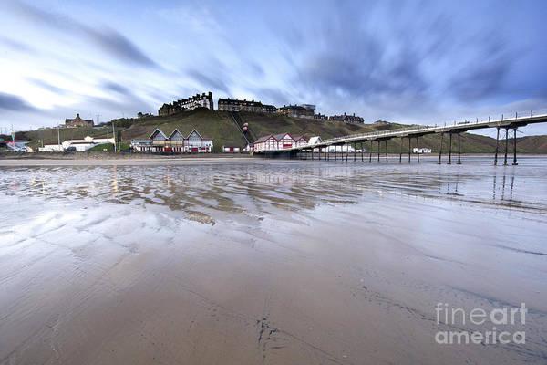 North Sea Photograph - Saltburn by Smart Aviation