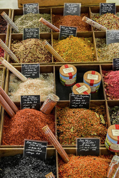 Photograph - Salts And Peppers At The Market by Allen Sheffield