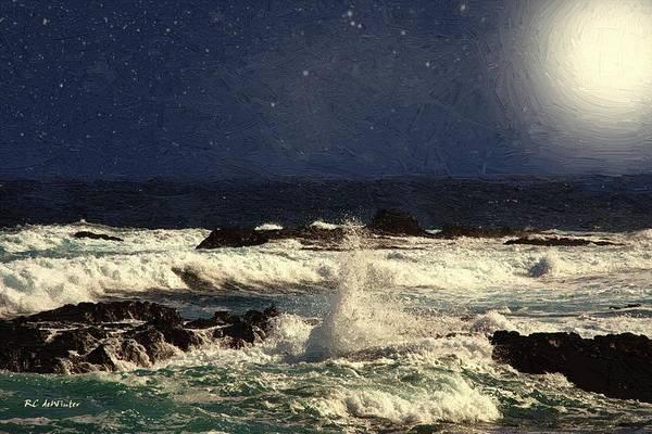 Painting - Saltspray by RC DeWinter